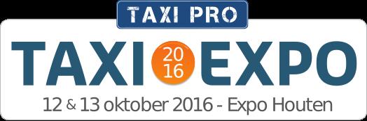Taxi Expo 2016 - 12 & 13 oktober 2016 - Expo Houten