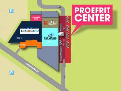Plattegrond Expo Houten - Proefritcenter